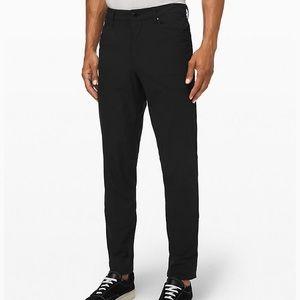 Lululemon men's ABC slim pants, size 36.